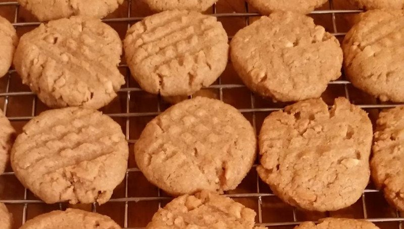 Alex's Peanut Butter Cookie Recipe