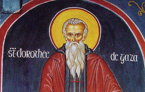 St. Dorotheos's tales: A monk and two slave girls