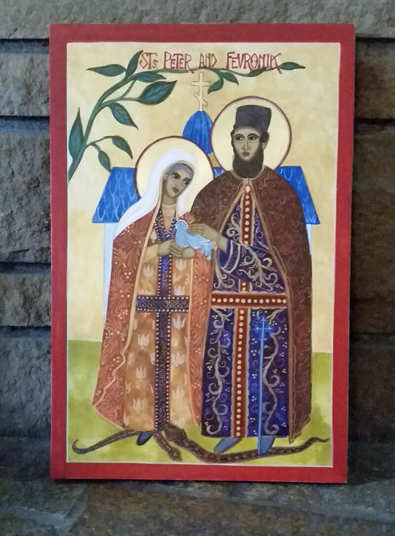 Prayer to Peter and Fevronia about family well-being 65