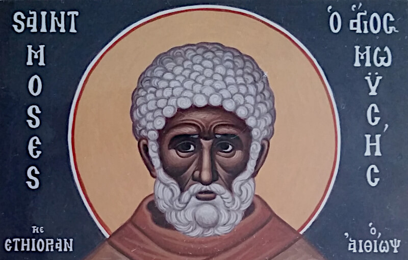 St. Moses the Black | Charlotte Riggle
