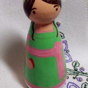 Catherine peg doll