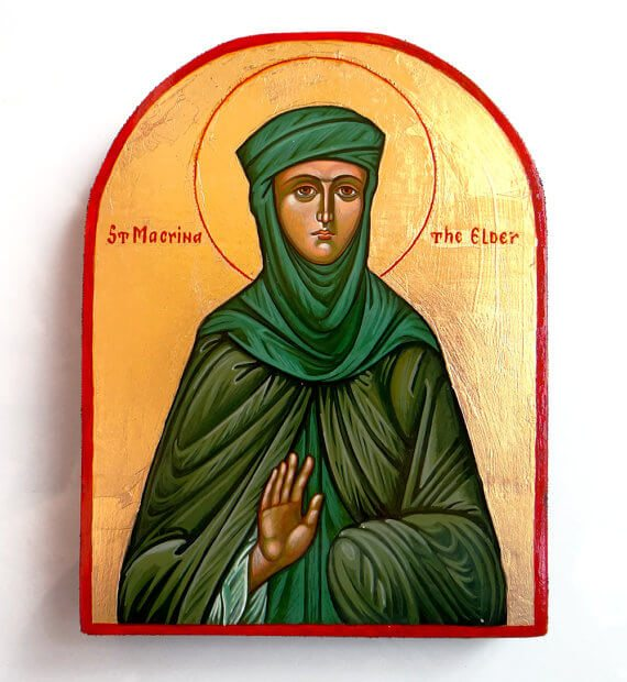 St. Macrina, Grandmother of Saints and Bridge of Theology