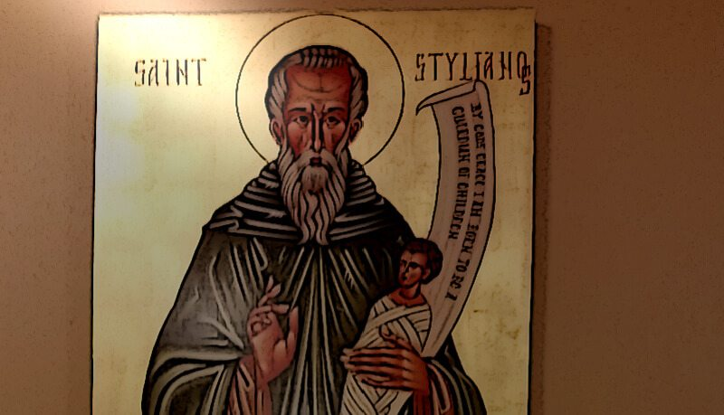 St. Stylianos, Guardian of Children