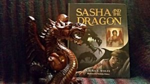 Sasha and the Dragon is a fairy tale with angels and a frightening dragon.