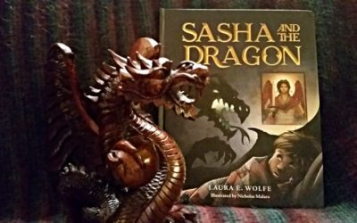 Sasha and the Dragon: A Fairy Tale with Angels