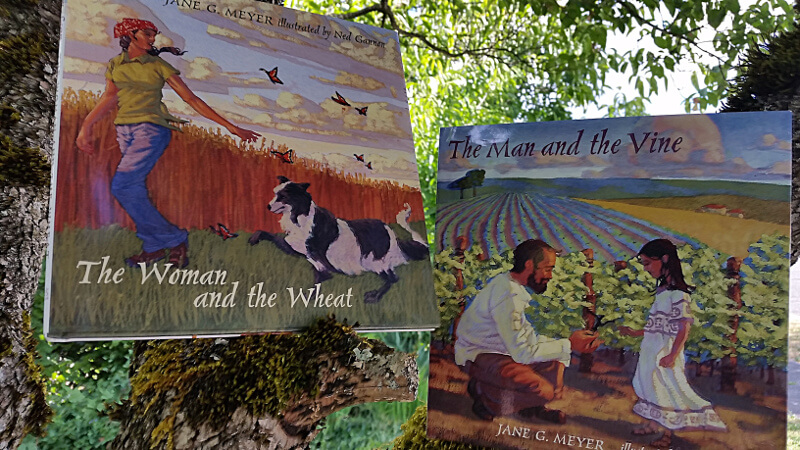 The Man and the Vine and the Woman and the Wheat