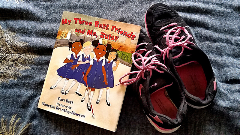 """A picture book called """"My three best friends and me, Zulay."""""""