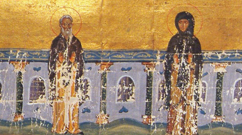 Saints Athanasia and Andronicus, models of marriage and monasticism