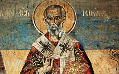 St. John Cassian and St. Nicholas