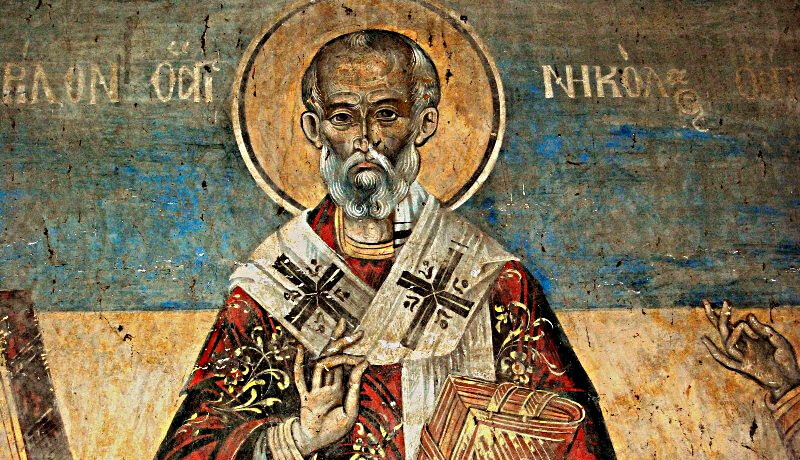 The tale of St. John Cassian and St. Nicholas