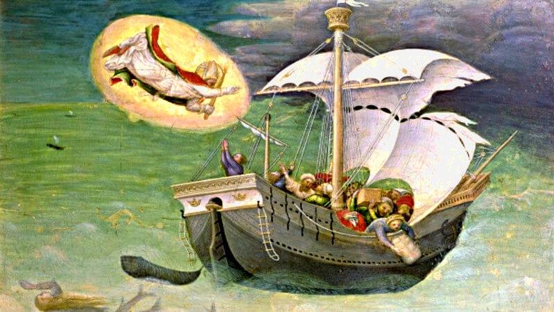 St. Nicholas, patron of sailors