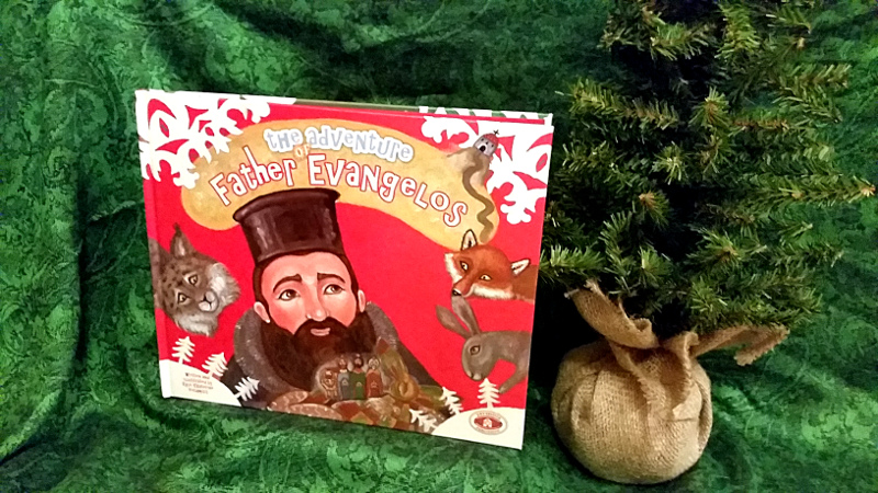The Adventure of Father Evangelos: A snowy story for Christmas