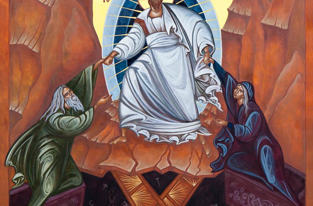 Anastasis icon of the Resurrection
