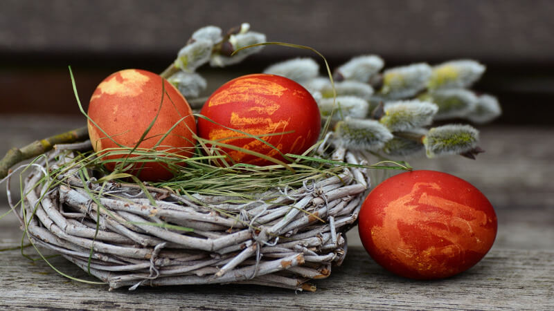 How did Easter get its name?