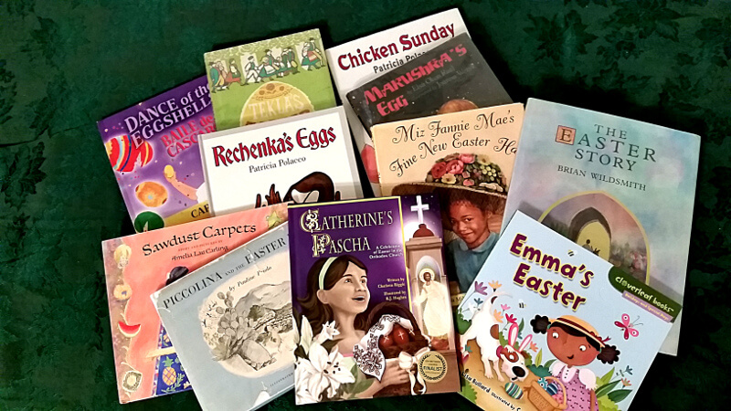 Easter picture books for a child's Lenten journey