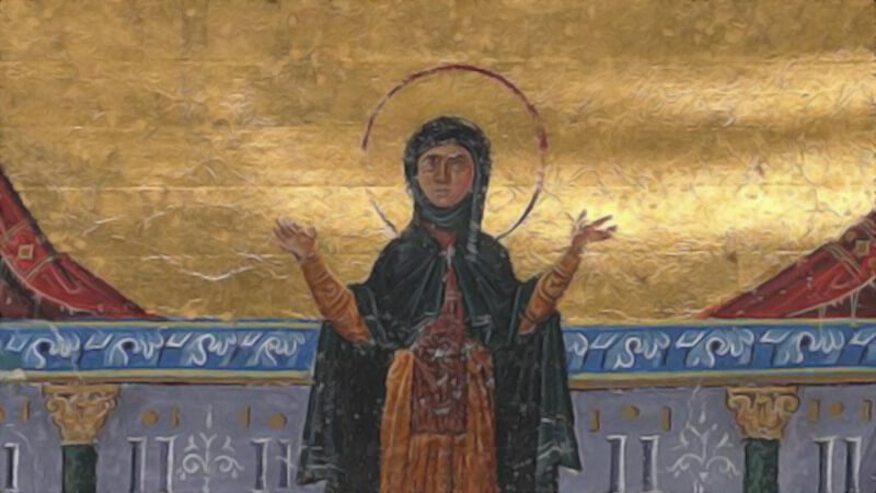 How Theodora of Alexandria became a monk and a mother
