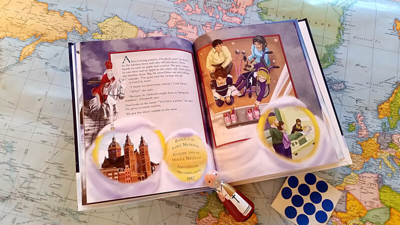 Book activities with The Saint Nicholas Day Snow
