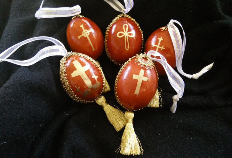 How to make Pascha ornaments